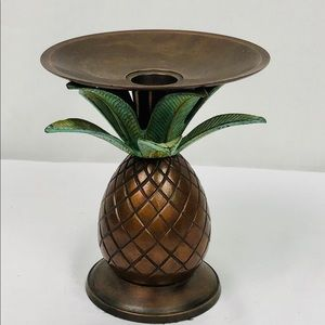 Other - Pineapple Brass Candle Holder